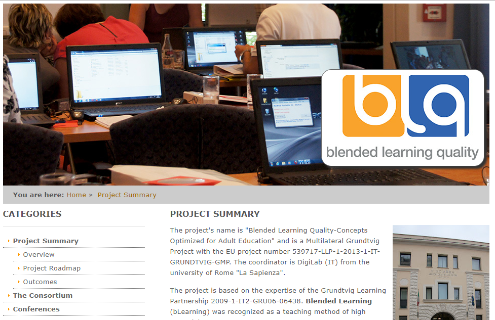 EFQBL - European Foundation for Quality in Blended Learning